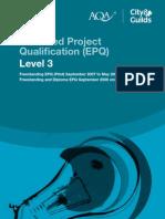EPQ Specification
