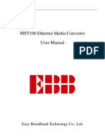 MST100 Ethernet Media Converter