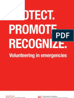 Volunteering in emergencies