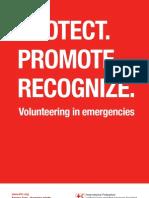 Volunteering in emergencies