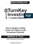 TurnKey Investing with Lease-Options (Table of Contents, Intro, Chapter 1)