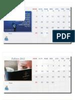 CALENDARIO PortalSUD 2012