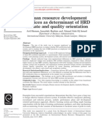 2 GOODhrd Practices as Determinant of Hrd Climate and Quality Orientation