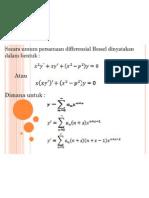 persamaan differensial bessel