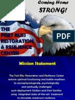 20110510 PTSD Ft Bliss RRCENTER Presentation