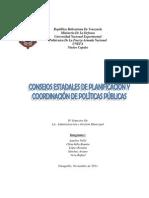 Consejos Estadales de Planificación y Coordinación de Políticas Públicas