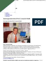 Inter Vista Il Prof. Leonardo Pinelli