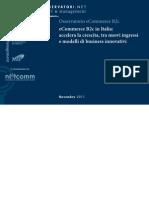 Politecnico Di Milano - Ecommerce Italia b2c 2011