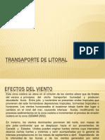 TRANSAPORTE DE LITORAL