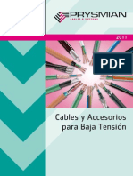 Prysmian Catalogo - Baja Tension 2011
