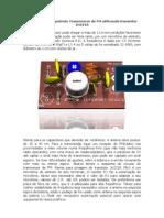 Esquema de Trans Miss Or de FM Potente Com Transistor 2n2218