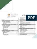 UFES Letras-Português Quadro de ofertas - 2012-1