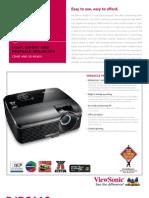 ViewSonic PJD5112 Ficha Tecnica
