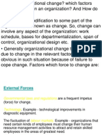 Organizational Change- 27 Oct.