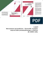 """Raport """"Konsument przyszłości - kierunki rozwoju wzornictwa przemysłowego w Polsce do roku 2030"""""""