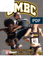 2010-2011 Cross Country/Track & Field Media Guide