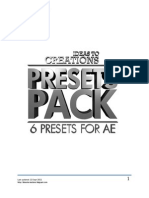Presets Pack Documentation