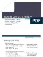 12. PLEN 8 Nursing Law 9173 Revision
