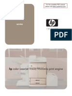 Hp Clj 9500 9500 Mfp Manual Toc