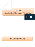 Variables Del Test PMA