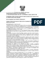 RECOMENDAÇÃO Nº 003 2011 UNIDADE UBV COMBATE A DENGUE