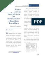 39112008 Desarrollo Competencias Docentes Lasallistas