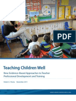Teaching Children Well