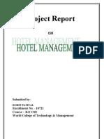 Hotal Management