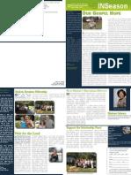 Shalom Newsletter Fall 2011
