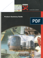 Fosroc Product Guide