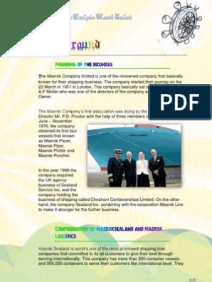 Maersk sealand | Performance Appraisal | Human Resource