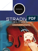 Stradivari User Manual