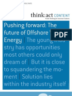 Offshore Wind - THINK-ACT Article