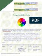 Sound Color Healing Meditations