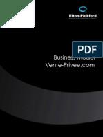 Etude Business Model Vente-privee