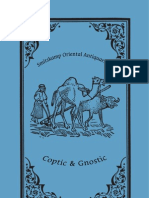 Catalogue of Coptic and Gnostic Works