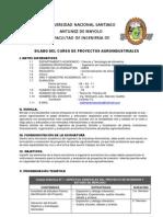 00 Silabo Proyectos Agroindustriales Wmc Ok 2011-i