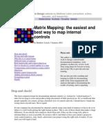 Internal Controls Design Website by Matthew Leitch