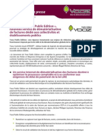Yooz lance « Yooz Public Edition », nouveau service de dématérialisation de factures dédié aux collectivités et établissements publics