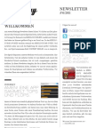 Mixology Newsletter #6 2011