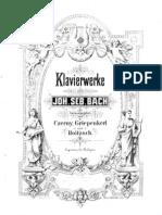 Bach - Kbd Partitas