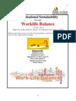 Workbook Organisational Sustainability