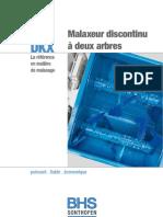 Prospekt Doppelwellen-Chargenmischer FR 092009