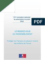 le rendez-vous du rassemblement - 2e convention nationale UMP de présentation du projet 2012