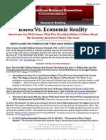 Biden Claims Economy Doing Better