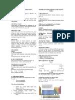 MATERI DAN PERUBAHAN & Struktur Atom & Sisem Periodik