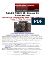 Failed Promise - Foreclosures