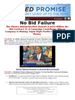 Failed Promise - No Bid Failure