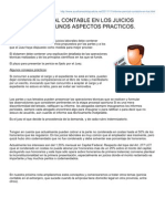 Auxiliaresdelajusticia.net-Informe Pericial Contable en Los Juicios Laborales Algunos Aspectos Practicos