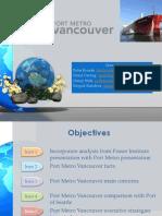 Group 4 - Port Metro Vancouver Visit